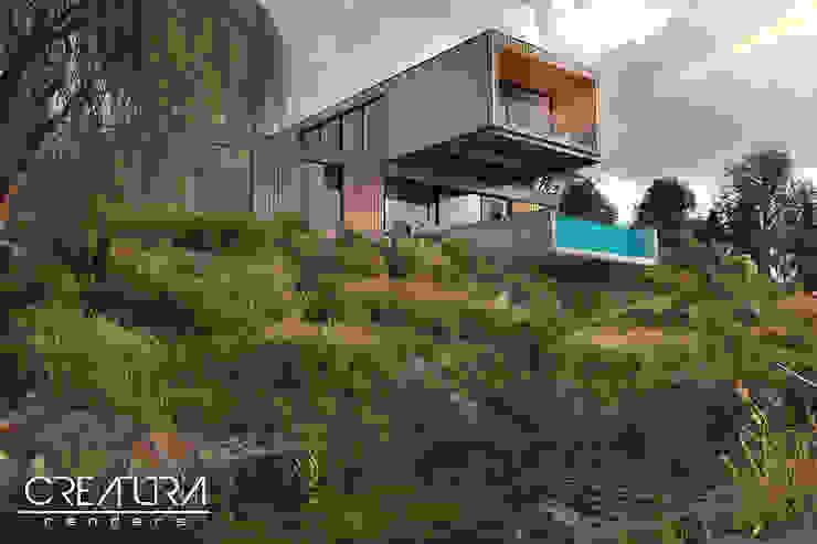 Creatura Renders Wooden houses
