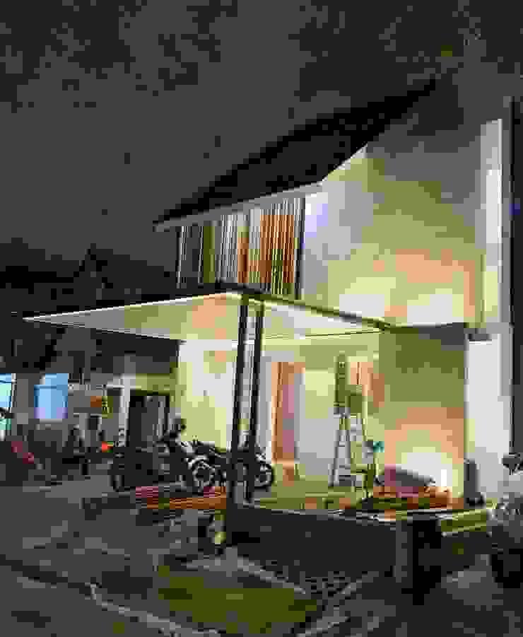 FZ House Oleh JSParchitect Modern Batu Bata