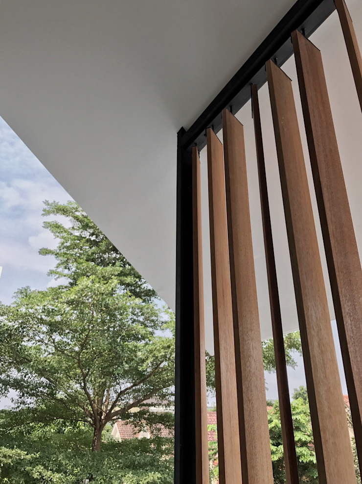 FZ House Oleh JSParchitect Modern Kayu Wood effect