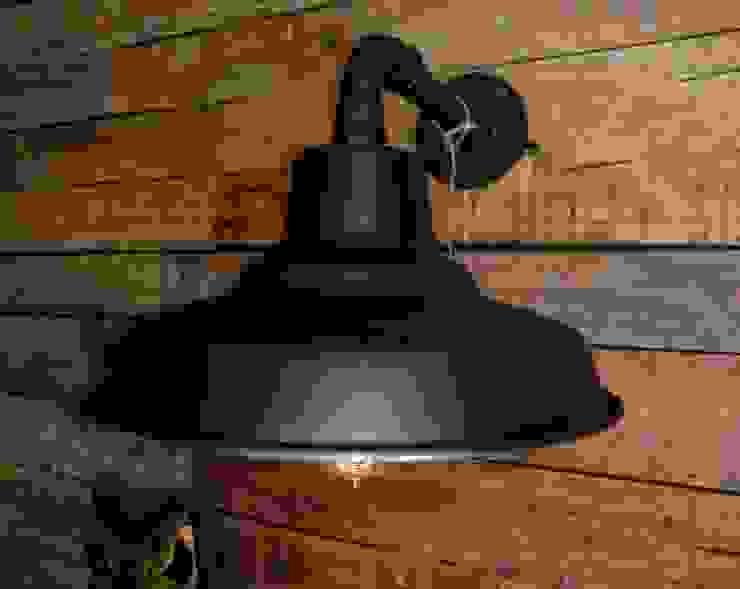 Lamparas Vintage Vieja Eddie Office spaces & stores Iron/Steel Black
