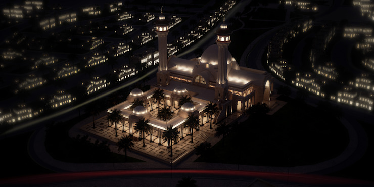 Night Shots by SPACES Architects Planners Engineers Mediterranean