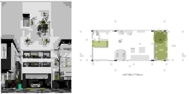 モダンな 家 の Công ty cổ phần kiến trúc và nội thất Tobehouse Việt Nam モダン