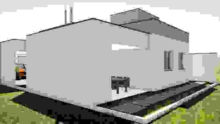 by Arantes Arquitetura Мінімалістичний Цегла