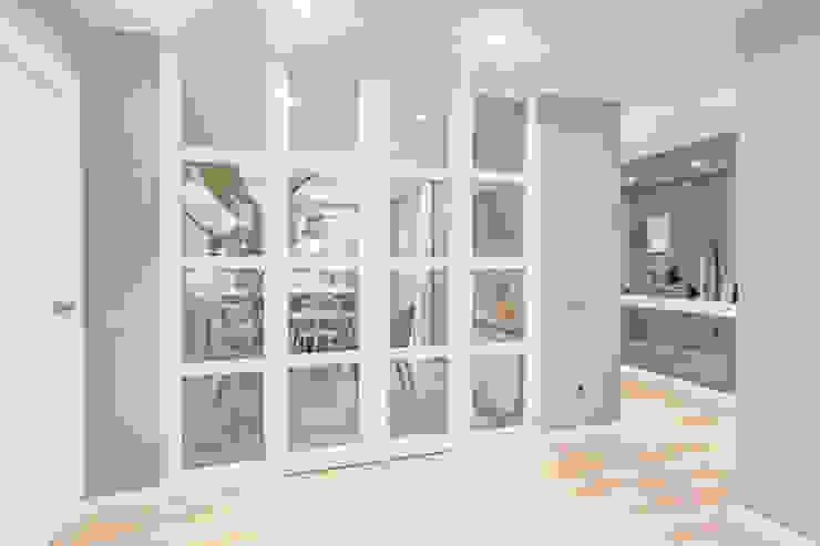 Luzestudio - Fotografía de arquitectura e interiores Corredores, halls e escadas modernos