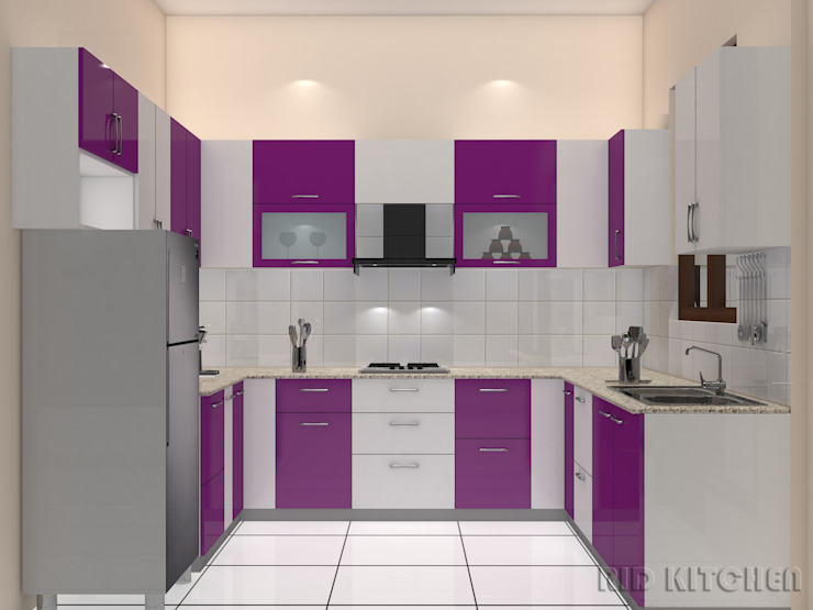 Modular Kitchen 根據 homify