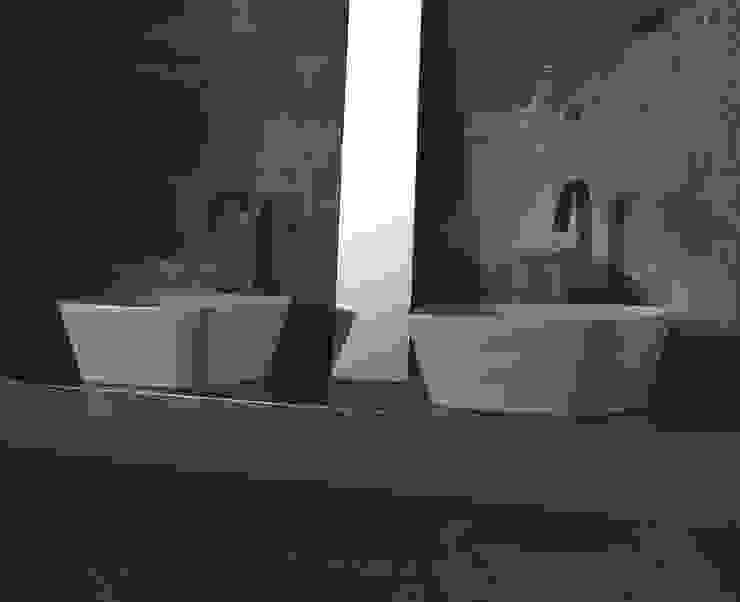 Loom - Lavatório pousar Smile Bath S.A. Casas de banho ecléticas