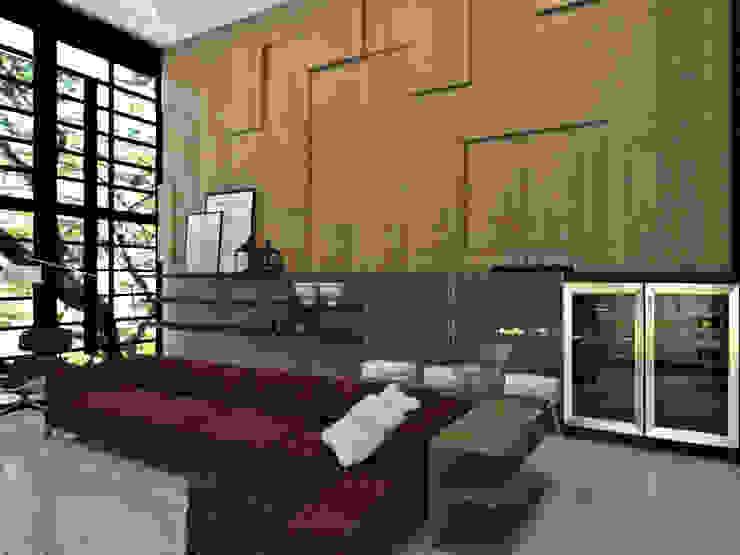 Modern Living Room by Jéssica Bett e Fernando Rebelo | Design de interiores Modern