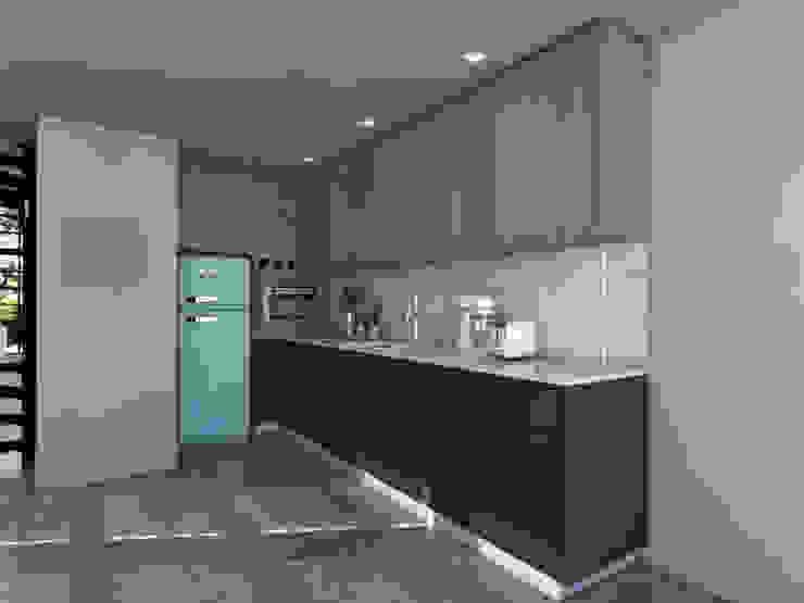 Modern Kitchen by Jéssica Bett e Fernando Rebelo | Design de interiores Modern