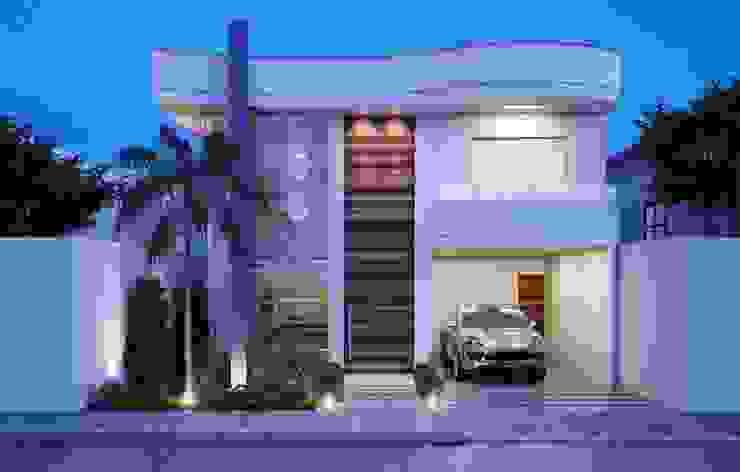 Minimalistische Häuser von Camila Pimenta | Arquitetura + Interiores Minimalistisch