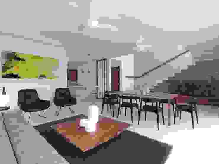 Living Taller Veinte Salones minimalistas