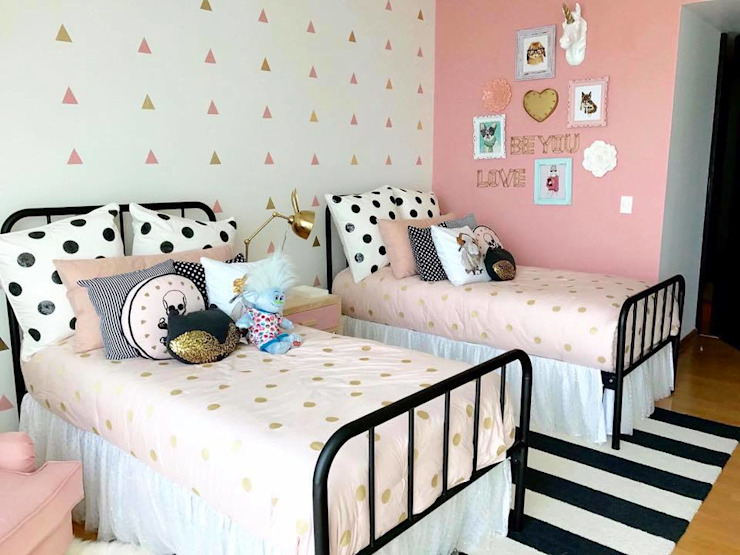 Franko & Co. Modern Kid's Room Pink