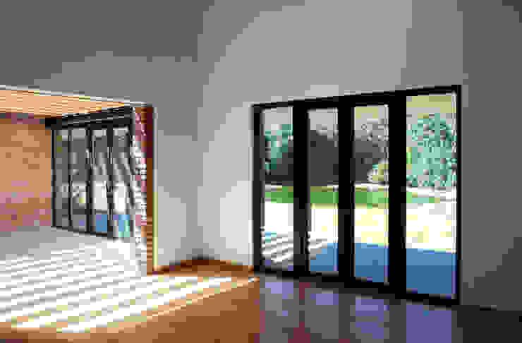 by AWA arquitectos Minimalist Wood Wood effect