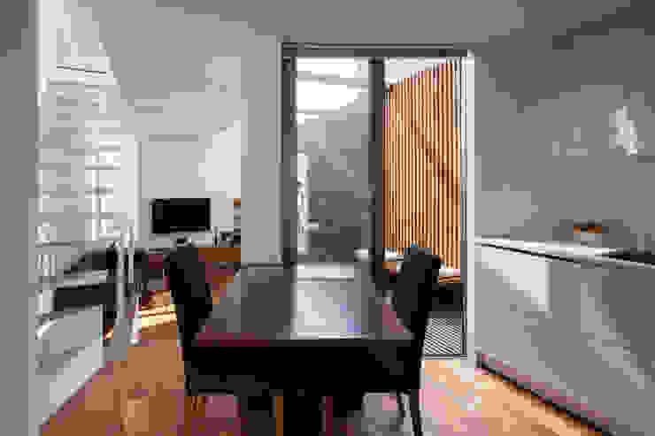 株式会社 ギルド・デザイン一級建築士事務所 Modern Dining Room White