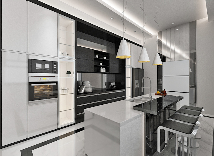 Dapur Bersih Dapur Modern Oleh Lighthouse Architect Indonesia Modern