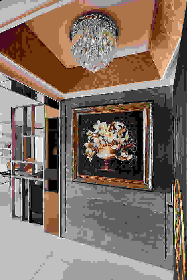 現代與古典 完美碰撞   38坪收納機能宅   芸匠室內設計 Artisan Design 經典風格的走廊,走廊和樓梯 根據 芸匠室內裝修設計有限公司 古典風