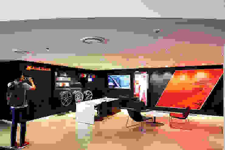 Audi - 內湖 根據 G.T. DESIGN 大楨室內裝修有限公司 簡約風