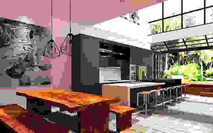 Modern style kitchen by Lighthouse Architect Indonesia Modern