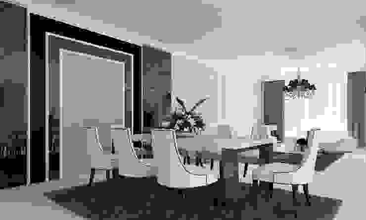Konsep Design Ruang Makan dan Keluarga Ruang Keluarga Modern Oleh Lighthouse Architect Indonesia Modern