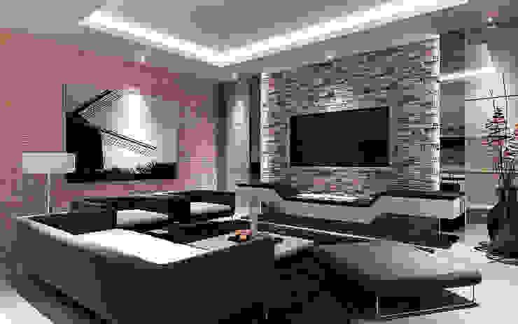 Living Room Design Concept Ruang Keluarga Minimalis Oleh Lighthouse Architect Indonesia Minimalis