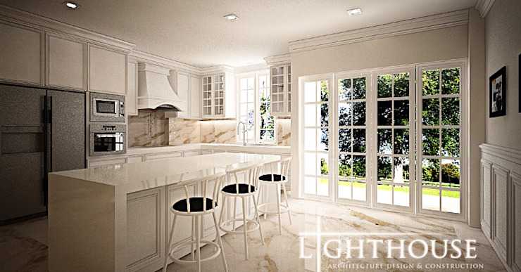Classic style kitchen by Lighthouse Architect Indonesia Classic