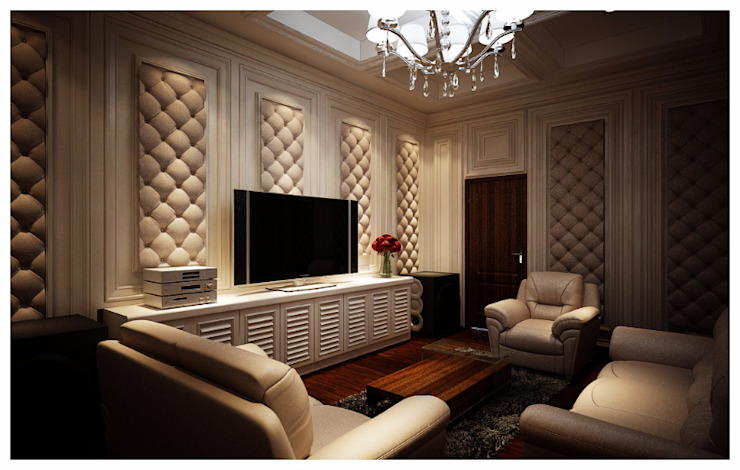 Classic style media rooms by Lighthouse Architect Indonesia Classic