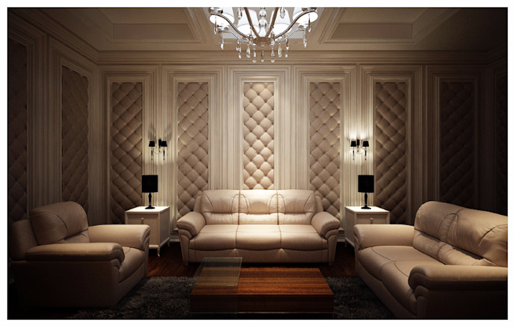 Classic style media room by Lighthouse Architect Indonesia Classic