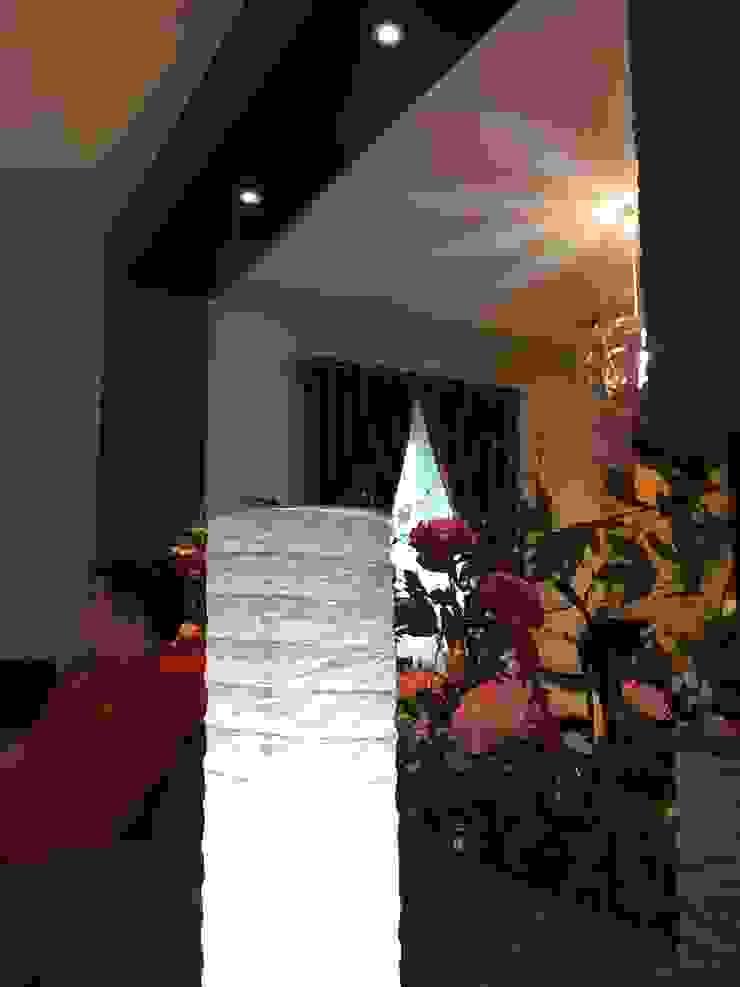D House, Simpang Empat. Pematangsiantar City Ruang Keluarga Minimalis Oleh Lighthouse Architect Indonesia Minimalis