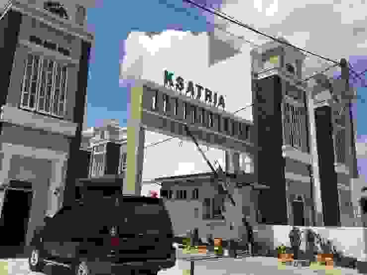 J.H. House, Ksatria Residence. Medan City Rumah Minimalis Oleh Lighthouse Architect Indonesia Minimalis