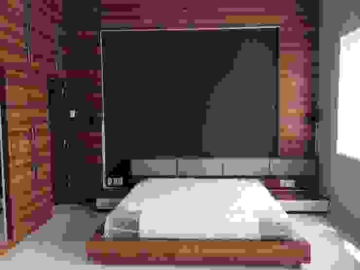 غرفة نوم تنفيذ Lighthouse Architect Indonesia , تبسيطي