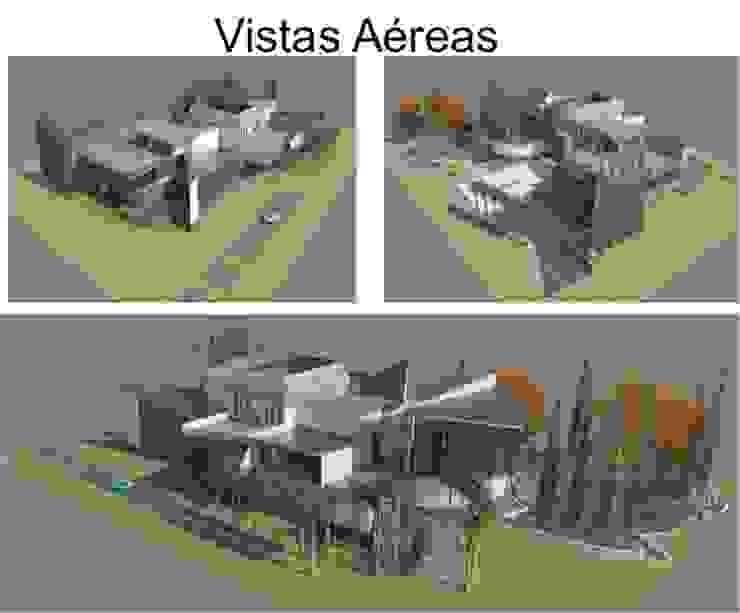 FACHADAS DE LA VIVIENDA Casas de estilo ecléctico de ESTUDIO KULUMAK Ecléctico