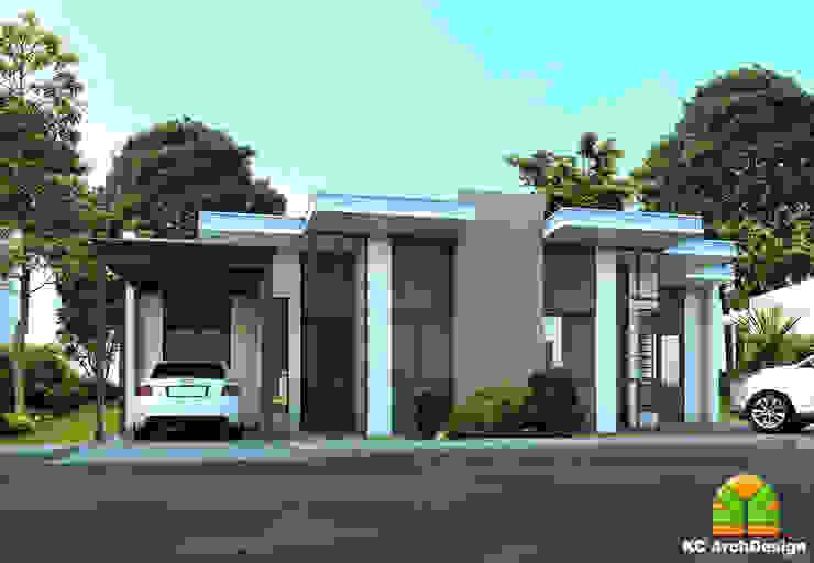 HOUSE EXTERIOR FACADE Modern home by homify Modern