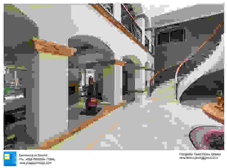 Casa Alberta de Excelencia en Diseño Colonial Concreto