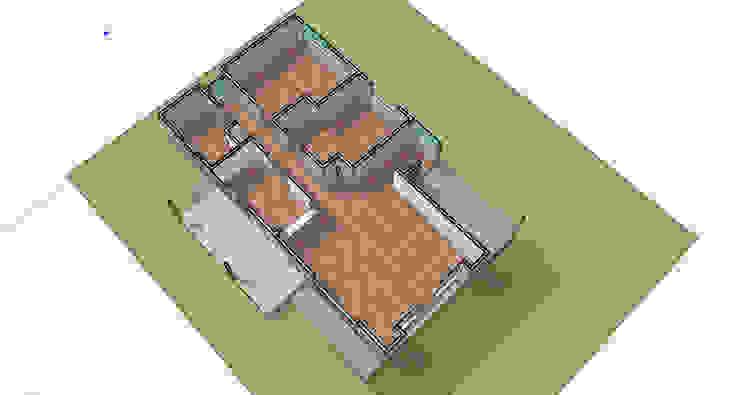 Distribución de ambientes de casa rural - Arquitectos en Coyhaique Rural