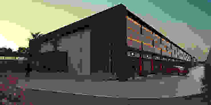 Maisons modernes par Sotto Mayor Arquitetura e Urbanismo Moderne