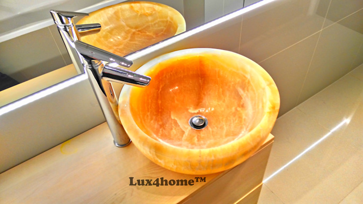 Onyx Sink:  Bathroom by Lux4home™ Indonesia, Modern