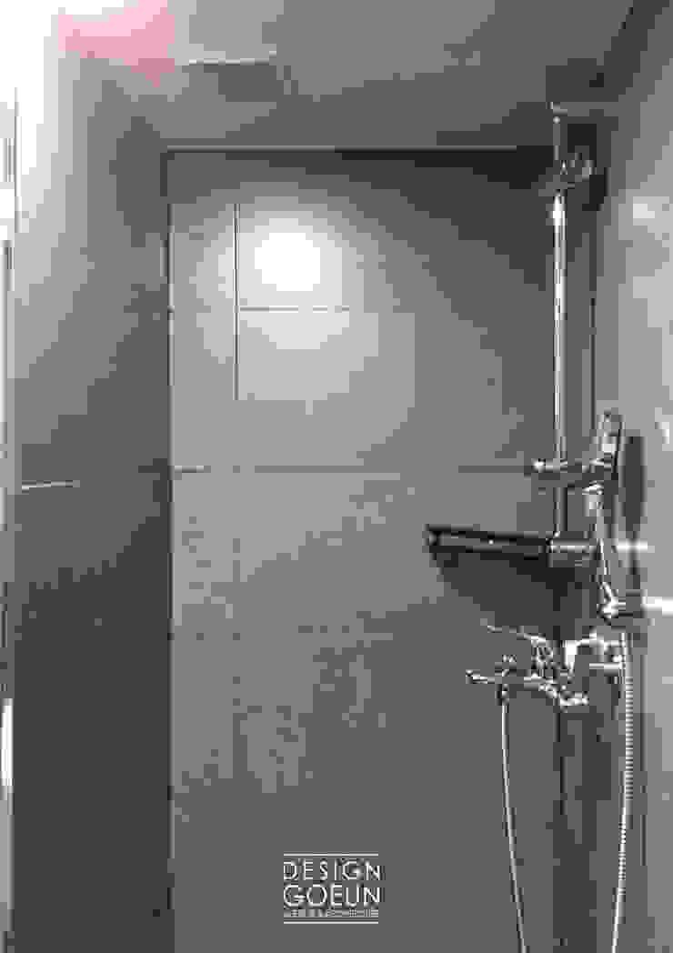 부천 미리내마을 네츄럴 모던하우스 모던스타일 욕실 by 디자인고은 모던