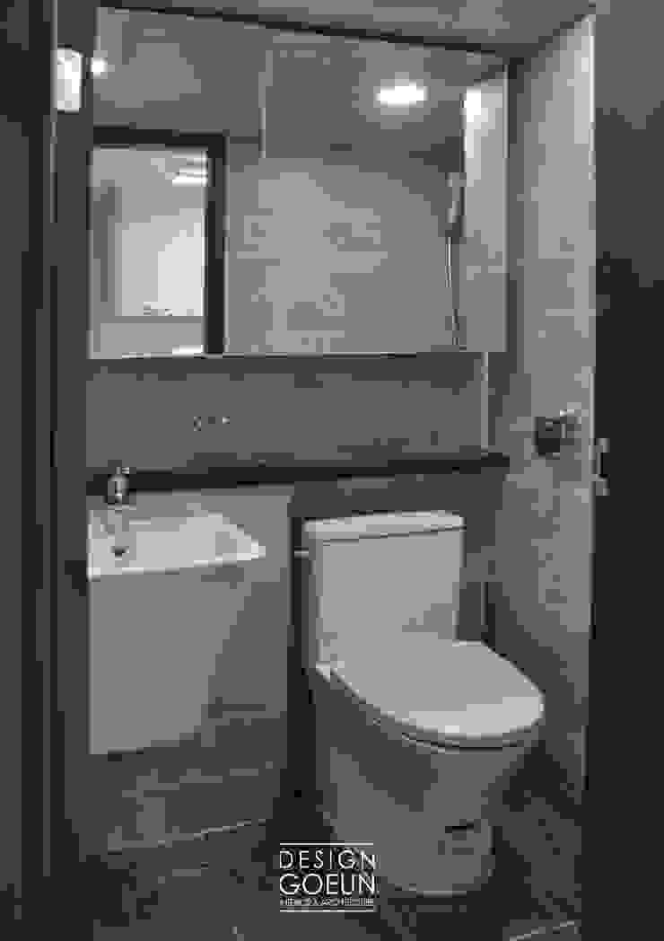 부천 모던하우스 인더스트리얼 욕실 by 디자인고은 인더스트리얼 타일