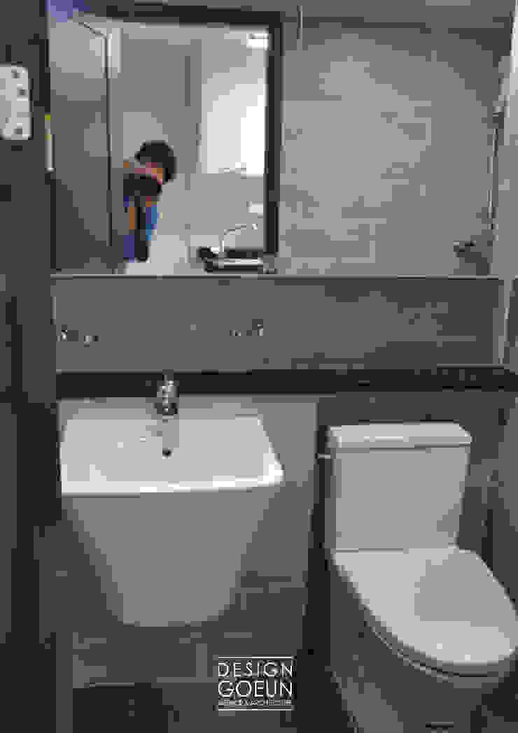 부천 모던하우스 인더스트리얼 욕실 by 디자인고은 인더스트리얼