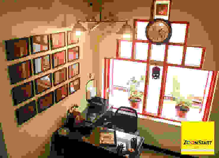 Dezinebox Edificios de Oficinas Madera Multicolor