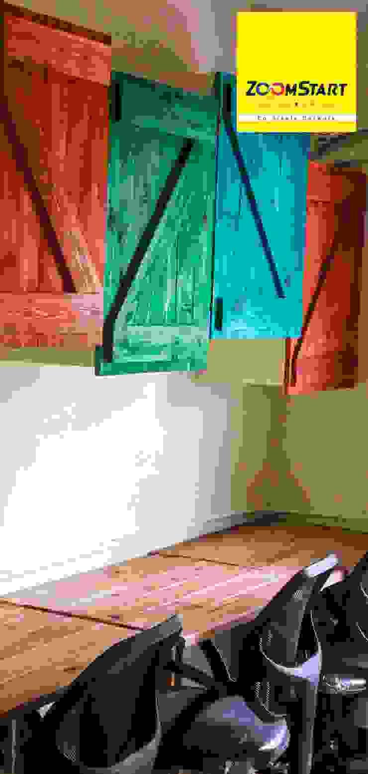 Dezinebox Oficinas y tiendas Madera Multicolor