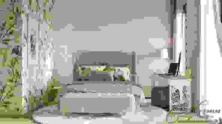 Такие разные спальни Компания архитекторов Латышевых 'Мечты сбываются' Спальня в стиле минимализм