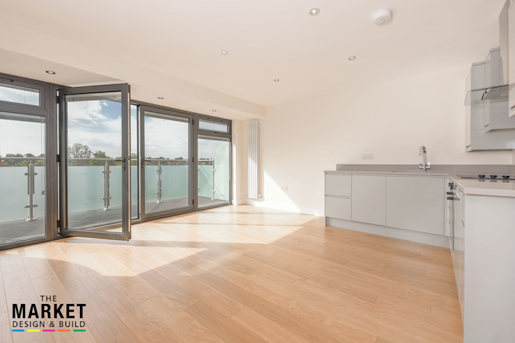 NEW BUILD LONDON PENTHOUSE by The Market Design & Build Modern
