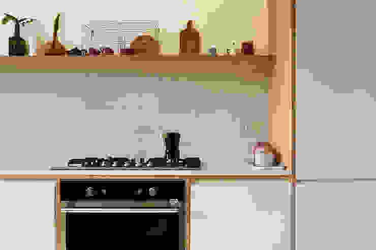studiovert 置入式廚房 木頭 White