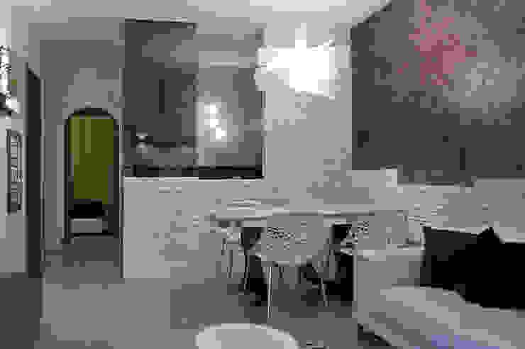 Salle à manger originale par Pamela Tranquilli Interior Designer Éclectique