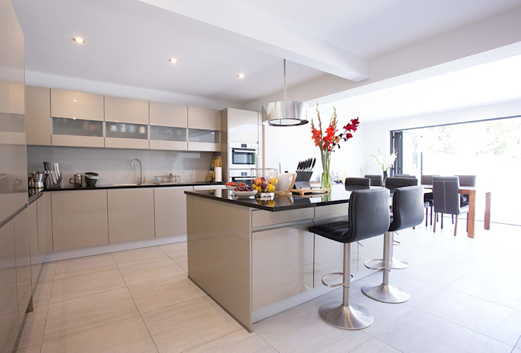Pinner Extension Modern Kitchen by The Market Design & Build Modern