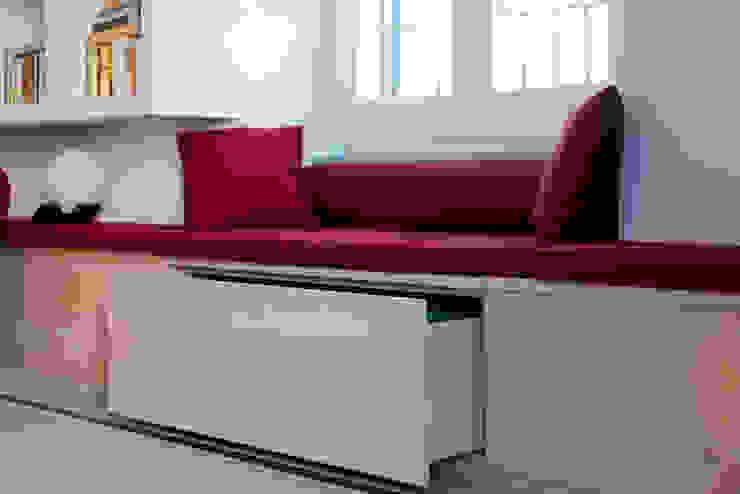 İskandinav Oturma Odası VITAE STUDIO - architettura İskandinav