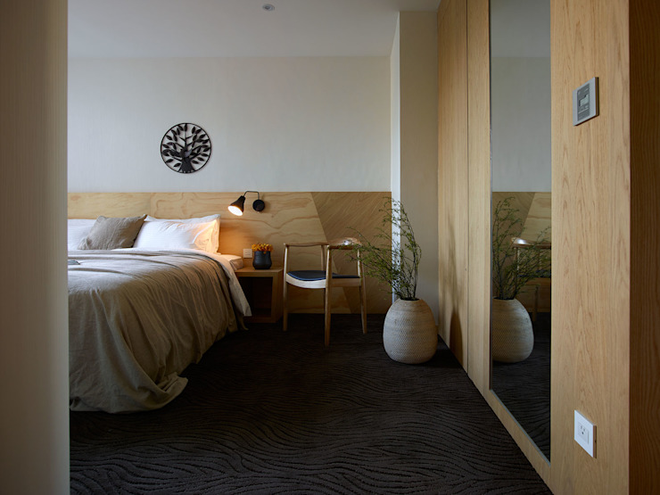 森之旅店-流水 根據 沐光植境設計事業 日式風、東方風