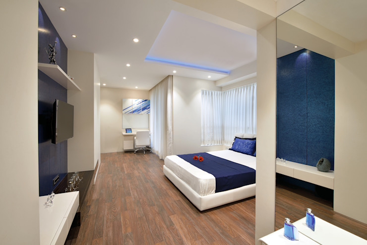 Son's Bedroom - Picture 3 Minimalist bedroom by homify Minimalist Wood Wood effect