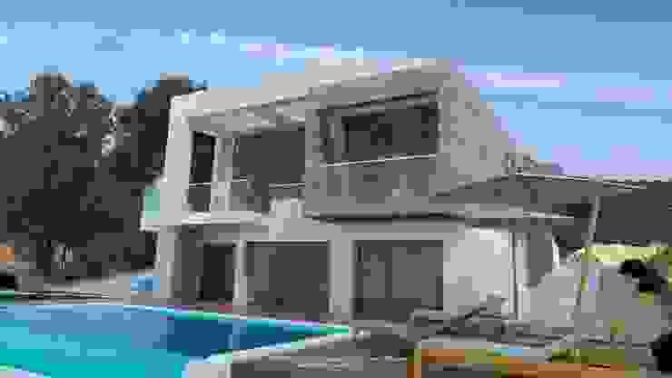 by FRAMASA- Dyov Studio 653773806 Mediterranean Wood Wood effect