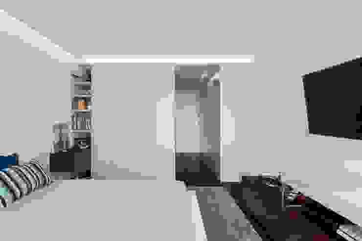 Risco Singular - Arquitectura Lda Stanza dei bambini minimalista